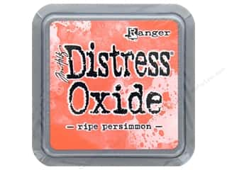 stamps: Ranger Tim Holtz Distress Oxide Ink Pad Ripe Persimmon