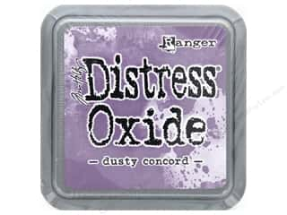 stamps: Ranger Tim Holtz Distress Oxide Ink Pad Dusty Concord