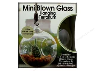 craft & hobbies: Pepperell Kit Terrarium & Hanger Set Mini