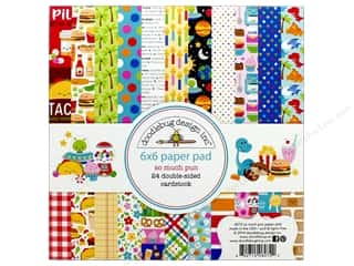 scrapbooking & paper crafts: Doodlebug 6 x 6 in. Paper Pad So Much Pun