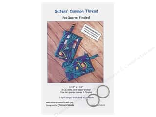 books & patterns: Sisters' Common Thread Fat Quarter Finales Pattern