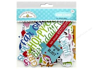 die cuts: Doodlebug Collection So Much Pun Chit Chat