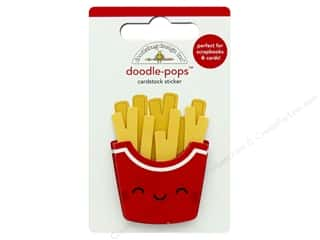 Doodlebug Collection So Much Pun Doodle Pops Fry Day