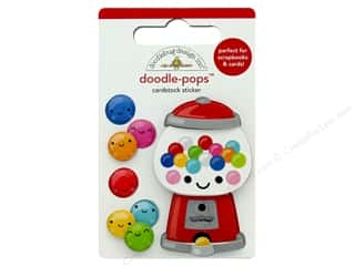 Doodlebug Collection So Much Pun Doodle Pops Gum-Believable