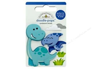 Doodlebug Collection So Much Pun Doodle Pops Dino Mite