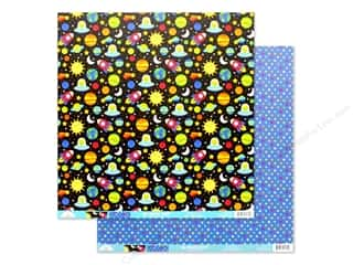 Doodlebug Collection So Much Pun Paper 12 in. x 12 in. Far Out (25 pieces)