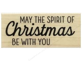 Rubber stamps: Hero Arts Rubber Stamp The Spirit of Christmas