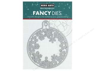 Ornament: Hero Arts Die Fancy Snowflakes And Ornament