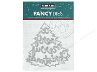 Hero Arts Die Fancy Very Merry Tree