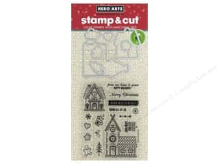 scrapbooking & paper crafts: Hero Arts Stamp & Cuts Fluffy Stockings
