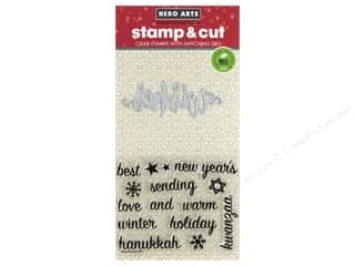 scrapbooking & paper crafts: Hero Arts Stamp & Cuts Wishes