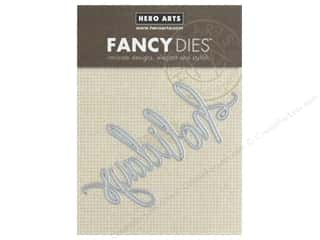 Hero Arts Die Fancy Holidays Word
