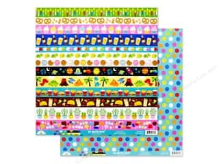 candle color: Doodlebug Collection So Much Pun Paper 12 in. x 12 in. Dots Of Fun (25 pieces)