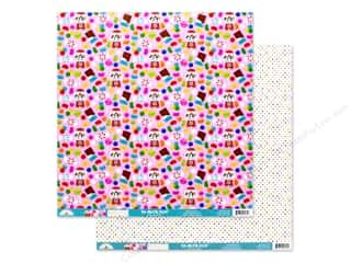 Doodlebug Collection So Much Pun Paper 12 in. x 12 in. Sweet Stuff (25 pieces)