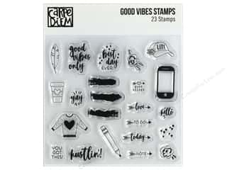 Simple Stories Carpe Diem Stamp Good Vibes