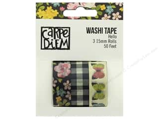 Simple Stories: Simple Stories Collection Carpe Diem Hello Washi Tape