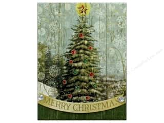 Punch Studio Note Pad Pocket Christmas Tree