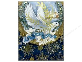 Punch Studio Note Pad Pocket Peace On Earth Dove
