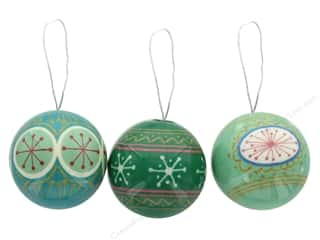 craft & hobbies: Sierra Pacific Crafts Styrofoam Ornament With Stars Assorted Mint