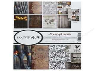 Reminisce Collection Kit 12 in. x 12 in. Country Life