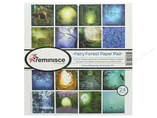 Authentique 12 x 12 in. Paper Pad Fairy Forest