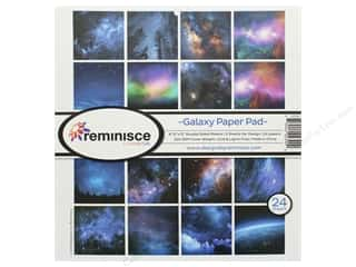 Reminisce 12 x 12 in. Paper Pad Galaxy