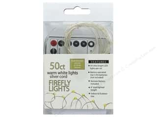 craft & hobbies: Sierra Pacific Crafts Light Firefly 50 ct Chasing With Remote Warm White/Silver Cord