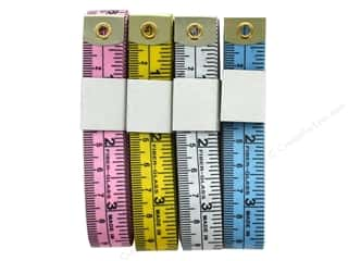 Colonial Needle Tape Measure Assorted Bulk (12 pieces)