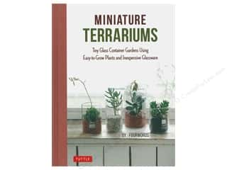floral & garden: Tuttle Publishing Miniature Terrariums Book