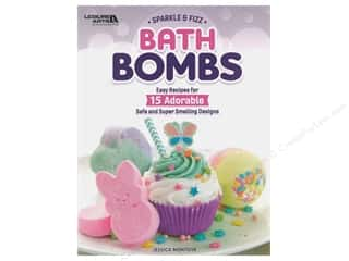 Leisure Arts Sparkle & Fizz Bath Bombs Book