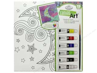 Royal Set Canvas Art Paint Moon