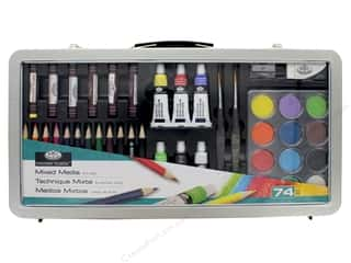 craft & hobbies: Royal Essentials Mixed Media Art Set 74 pc.