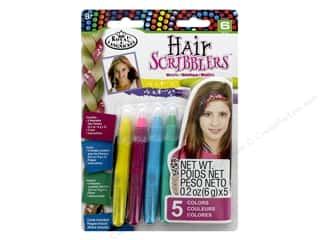 craft & hobbies: Royal Set Hair Scribblers Metallic