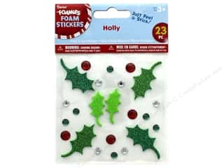 craft & hobbies: Darice Foamies Sticker Foam & Gem Holly