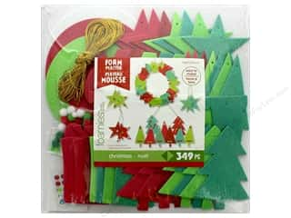 novelties: Darice Foamies Kit Platter Christmas