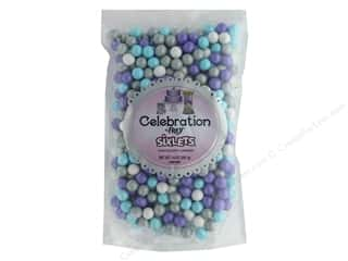 SweetWorks Celebration Sixlets 14 oz Stand Up Bag Shimmer Princess