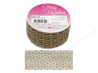 craft & hobbies: Morex Ribbon Wire Victoria 1.5 in. x 3 yd Taupe