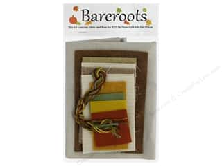 yarn & needlework: Bareroots Kit Fabric & Floss Kit Be Thankful Pillow