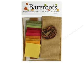 Clearance: Bareroots Kit Fabric & Floss Kit Thankful & Blessed Pillow