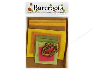 Clearance: Bareroots Kit Fabric & Floss Kit Cornucopia Pillow