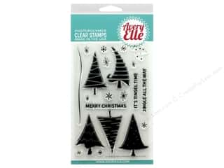Avery Elle Clear Stamp Quirky Christmas