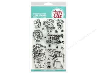 stamps: Avery Elle Clear Stamp Merry Little Christmas