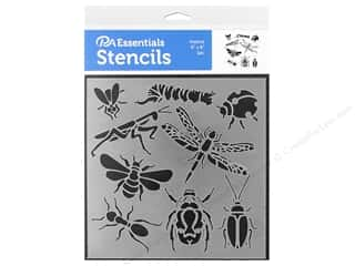 PA Essentials Stencil 6 x 6 in. Insects