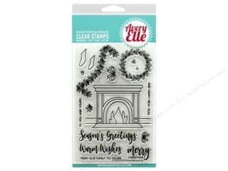 Avery Elle Clear Stamp Fireside