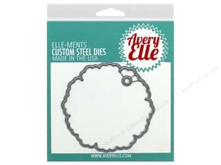 Avery Elle Die Elle-Ments Snow Tags
