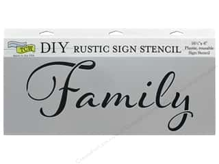 The Crafter's Workshop Stencil 16.5 in. x 6 in. Family