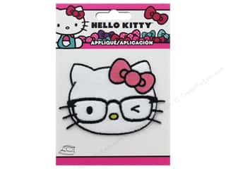 Simplicity Applique Iron On Hello Kitty Head