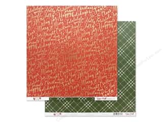 Clearance: Echo Park Collection Merry & Bright Paper 12 in. x 12 in. Jolly Words (25 pieces)