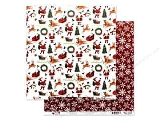 Echo Park Collection Merry & Bright Paper 12 in. x 12 in. Merry Christmas (25 pieces)