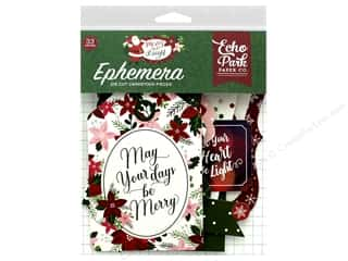 Clearance: Echo Park Collection Merry & Bright Ephemera